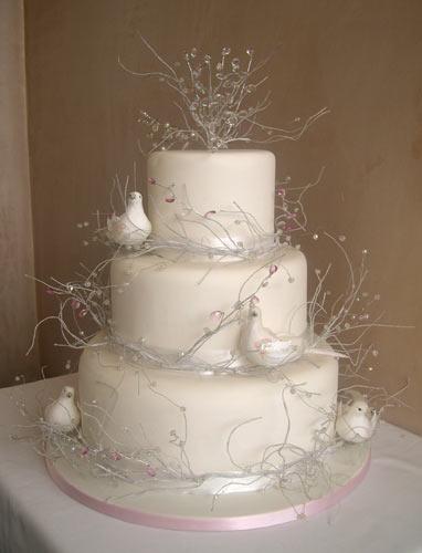 Wedding Cakes European Style
