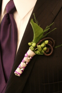 Bling on the Boutonniere