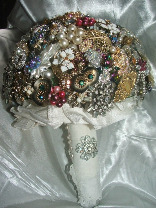 Expensive Brooch Bouquet