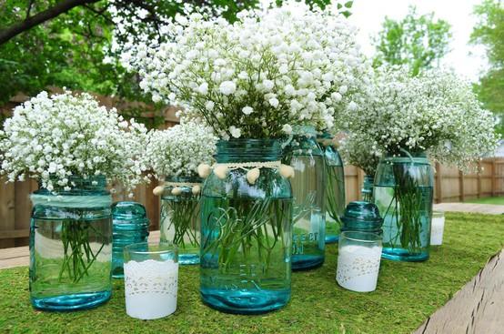 Pink Vase Filler Ideas