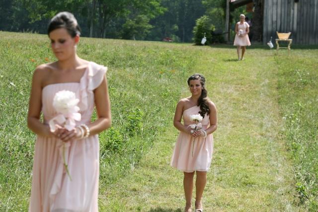 Bridesmaids Procession